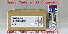 MSD023A1XU-Panasonic Servo Driver In Stock-Free Shipping($950USD)
