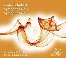 DENNIS/SOB RUSSELL DAVIES - SINFONIE 2+6  CD NEU SCHUBERT,FRANZ