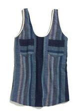 NEW nwt Ace and Jig Smith Tank Top $120 Madewell Blue Pocket SMALL
