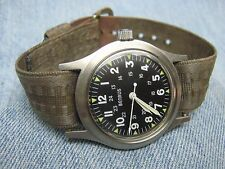 Men's Vintage BENRUS Military Issue mil-w-46374 Waterproof Mechanical Watch