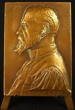 Médaille à l'écrivain Benjamin Couve sc Prud'homme 1918  Medal