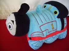 "Thomas & Friends Pillow Pets 11"" Soft stuffed Pillow V nice pre-owned & colors"