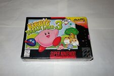 Kirby's Dream Land 3 (Super Nintendo Entertainment System SNES, 1997) NEW Sealed