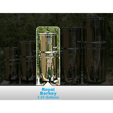New Royal Berkey Water Purification System w/ 4 Black Berkey Elements