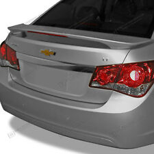 For: CHEVY CRUZE; UNPAINTED Spoiler Wing With LED Brake Light 2010-2015