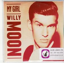 (ED923) Willy Moon, My Girl - DJ CD