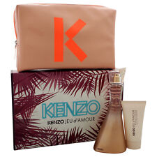 Kenzo Jeu d'Amour by Kenzo for Women - 3 Pc Gift Set