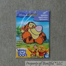 BonEful Boutique Disney TIGGER Winnie Pooh US Fabric Iron On Applique Embroidery