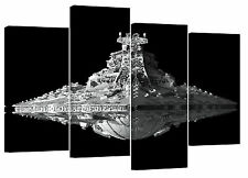 "Star wars destroyer/set of 4 new canvas prints/ 32""x 20""/A1"