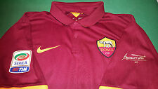MAGLIA ROMA TOTTI SIGNED JERSEY NIKE 2014 2015 BOX LIMITED EDITION no MATCH WORN