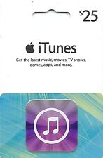 25 DOLLARI USA Apple iTunes Gift Card certificato Voucher | AMERICANO STATI UNITI CODICE ITUNES