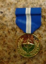 US ARMY,USN,USAF ANODIZED DRESS UNIFORM MEDAL,NATO NON ARTICLE 5, BALKANS