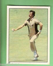1982 SCANLENS CRICKET STICKER #97  RICHARD HADLEE, NEW ZEALAND