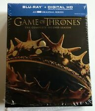 GAME OF THRONES SEASON 2 BLU RAY 5 DISC SET DIGIPACK + SLIPCOVER SLEEVE BUY IT