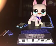 LPS-Littlest Pet Shop-Lot of Phone, Keyboard, Laptop, Collar & Tablet **BLUE**