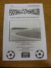 10/03/2016 The Football Traveller Magazine: Volume 29 Issue 30 - Billingham Synt