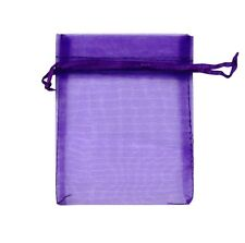 Organza Bags, Wedding Favours, Jewellery Pouch, Gift Bag, 1-100pcs, 10 colours