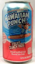 "MT UNOPEN 12oz American Dr. Pepper's ""Hawaiian Punch"" Fruit Juice Drink USA 2012"