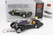 CMC 1:18 scale Bugatti 57 SC 1938 Corsica Roadster -Blue (M-106)