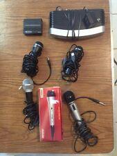 Microphone & Electronics Lot