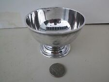 VNTG GEORGE II REPRODUCTION STERLING SILVER FOOTED BOWL