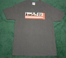 U2 Elevation Tour 2001 Concert T-Shirt Charcoal Gray Size L