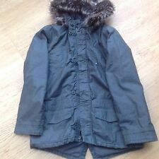 BNWT Khaki lightly padded winter coat, 12yrs, 152cms. (Brand New With Tags)