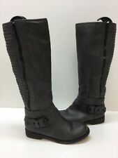 Aldo Stacey Women Gray Knee High Boot Size 7M