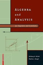Algebra and Analysis for Engineers and Scientists by Anthony N. Michel and...