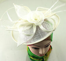 Headband Aliceband Hat Feather Hair Fascinator Weddings Prom Royal Ascot