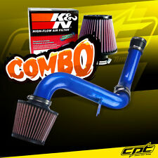00-05 Mitsubishi Eclipse GT 3.0L V6 Blue Cold Air Intake + K&N Air Filter