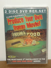 Produce Your Own Damn Movie! (DVD) 2-Disc Set! TROMA TEAM VIDEO DVD! BRAND NEW!
