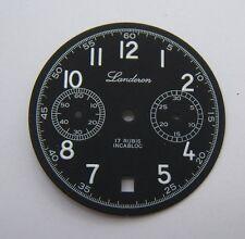 CADRAN LANDERON TYPE MILITAIRE POUR VALJOUX 7734 DIAMETRE 32MM N.O.S.