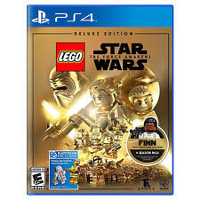 LEGO Star Wars: The Force Awakens -- Deluxe Edition (Sony PlayStation 4, 2016)