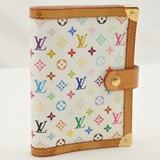 Authentic  Louis Vuitton Multicolor Agenda PM Day Planner Cover R21074 #S2710 E