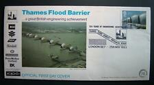 1st Day Cover - Thames Flood Barrier - May 1983 - 20½p Stamp