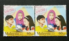Malaysia Stamp Collecting Week 2015 Children Postal Service Hobby (stamp 2's MNH