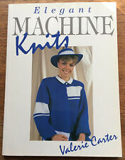 Elegant Machine Knits by Valerie Carter (Paperback, 1988)