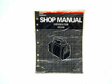 HONDA EX350 GENERATOR SHOP MANUAL (#226)