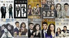 Bones Seasons Complete Series 1 2 3 4 5 6 7 8 9 10 DVD New Sealed