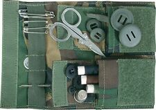 WEB-TEX BRITISH ARMY WOODLAND DPM CAMO SEWING POUCH,HOUSEWIFE KIT, CAMOUFLAGE,UK