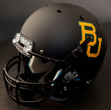 BAYLOR BEARS Schutt AiR XP Authentic GAMEDAY Football Helmet (MATTE BLACK)