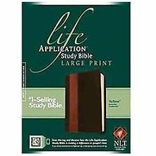 LIFE APPLICATION STUDY BIBLE [9781414 - TYNDALE HOUSE PUBLISHERS (PAPERBACK) NEW