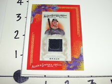 Ryan Braun ALLEN & GINTER 2010 Game Worn Jersey - Milwaukee Brewers / Hurricanes