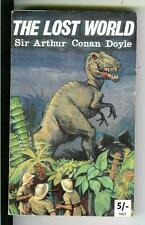 THE LOST WORLD by Doyle, rare British Murray 3rd sci-fi horror pulp vintage pb
