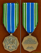 U.S. ARMY MEDAL FOR MILITARY ACHIVEMENT FULL SIZE AND RIBBON NEW