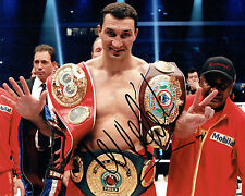 Wladimir KLITSCHKO Champion Boxer Signed Photo C AFTAL COA Boxing Dr Steelhammer