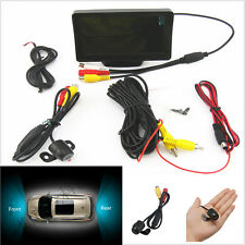 "4.3"" LCD Car Mirror Monitor Display Screen + 170° CCD Car Rear View Camera Kits"