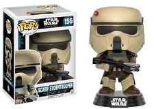 Star Wars Rogue One Scarif Stormtrooper Blue Stripe 156 Funko Pop Vinyl Figure