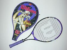 "Wilson Marvel Comics X-Men ""Storm"" Tennis Racquet Oversize w Cover 1996 - Cool"
